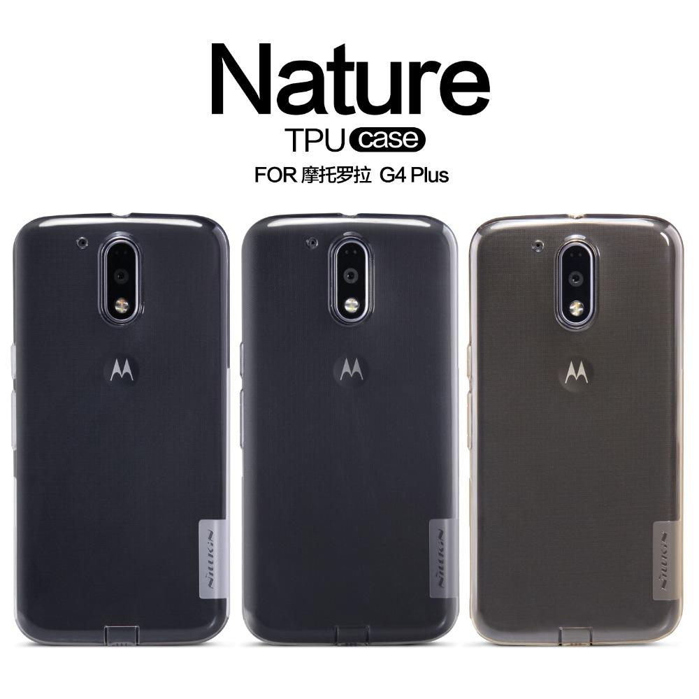 NILLKIN Nature Transparent TPU Back Cover Case Motorola MOTO G4 Plus Clear Soft - N C&S Franchise store