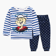 Baby Clothes 2016 Brand Summer Kids Clothes Sets T-shirt+pants Suit Clothing Set Popeye Printed Clothes Newborn Sport Suits(China (Mainland))