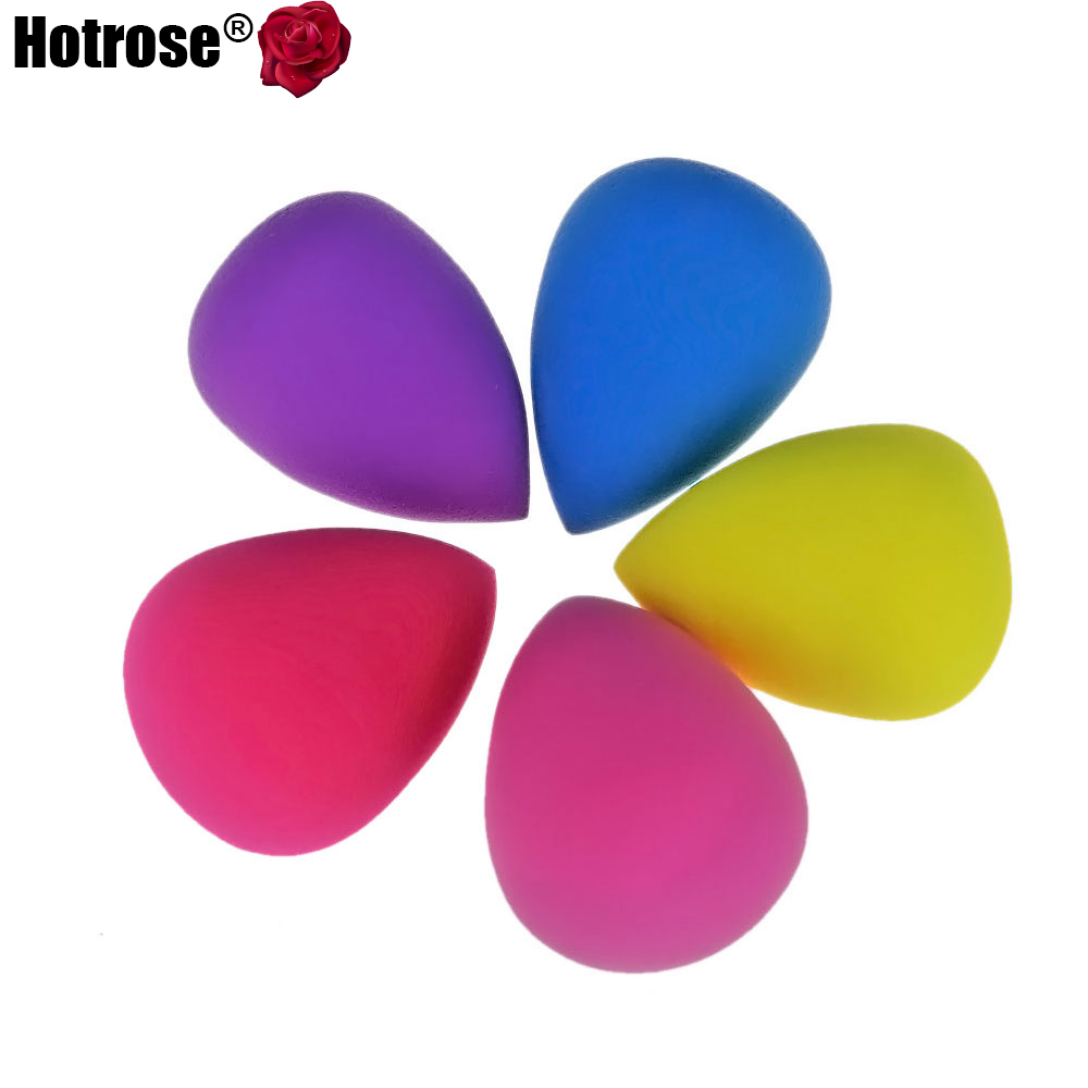 5PCS Natural Makeup Sponges Puff Cosmetic Sponge Blender Powder Foundation Puff Flawless Smooth Shaped Sponges Make Up Tools(China (Mainland))
