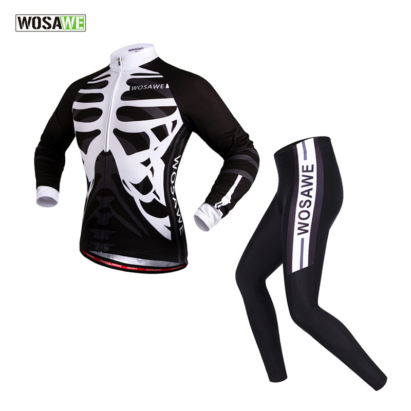 WOSAWE Breathable Long Sleeve Cycling jerseys Suit/Quick-Dry MTB Road Ciclismo Bicycle Bike Jerseys Sportswear Cycling Clothing<br><br>Aliexpress