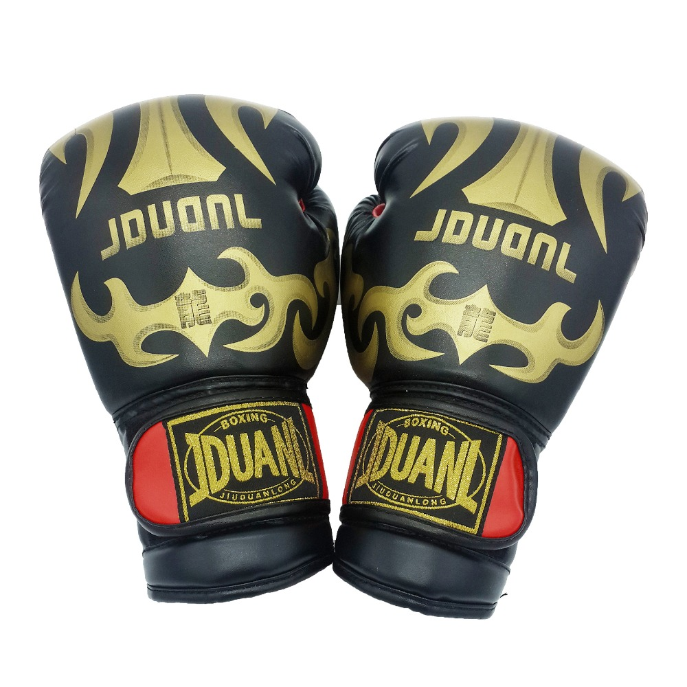 Original 3 colors 10oz PU mateial high quality breathable male fitness boxing gloves muay thai for adult free shipping(China (Mainland))