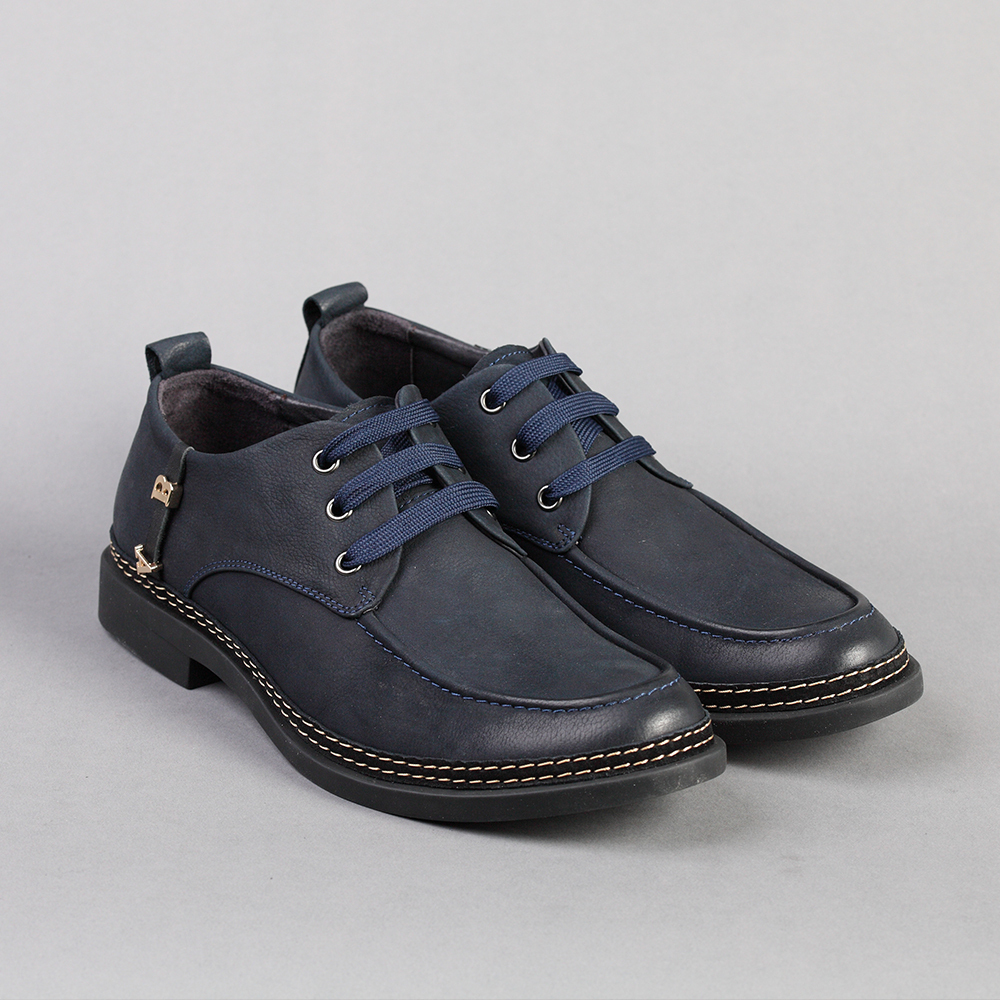 Basic-Editions Men New Genuine Leather Casual Sneakers Shoes Navy Blue Size 39-44<br><br>Aliexpress