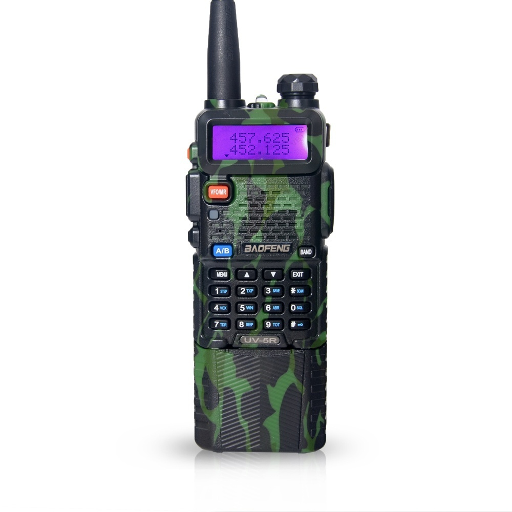BaoFeng UV-5R with 3800mAh long Li-ion Battery Dual Band VHF+UHF(136-174&400-520)MHz Ham Two Way Radio Walkie talkie UV5R(China (Mainland))