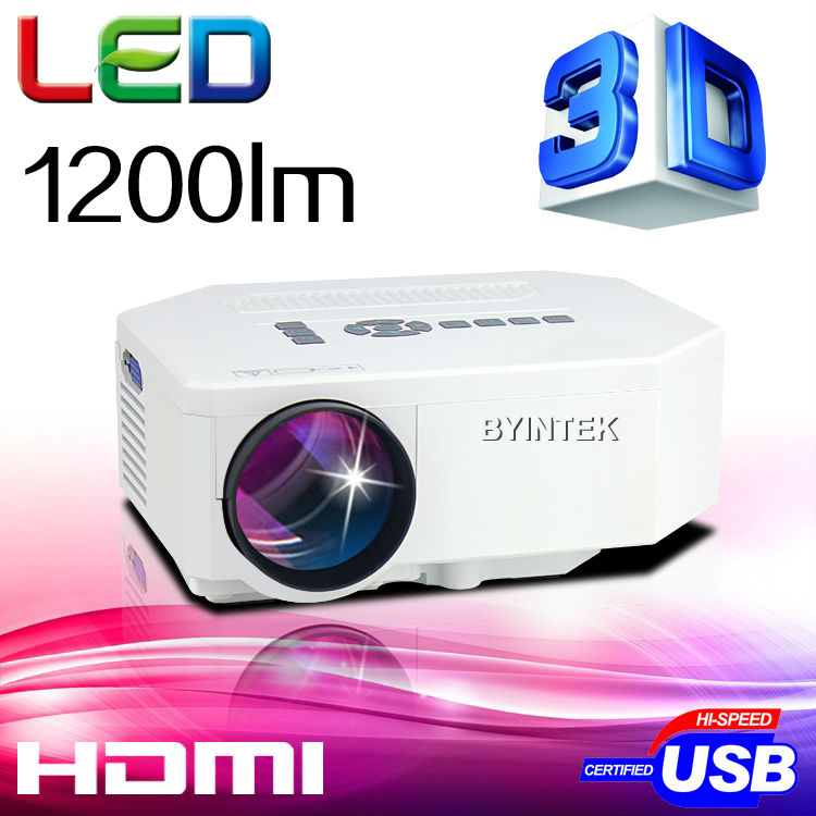 Big Discount 2015 LED Mini Portable HDMI USB Video pICo LCD 1080P 3D hd Home Theater Projector fUlL hd Proyector Beamer Projetor(China (Mainland))