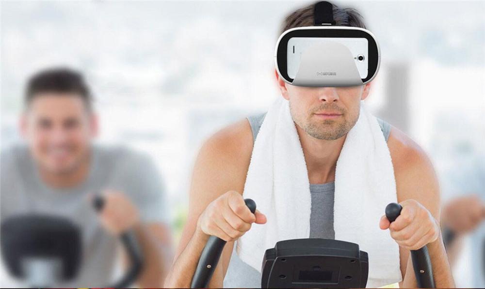 """ถูก 2016 B Aofeng Mojing XD 3D VRแว่นตาหมวกกันน็อกความเป็นจริงเสมือนกล่องกระดาษแข็งสำหรับiPhone 6 6วินาทีบวกและA Ndroid 4.7-5.5 6 """"มาร์ทโฟน"""