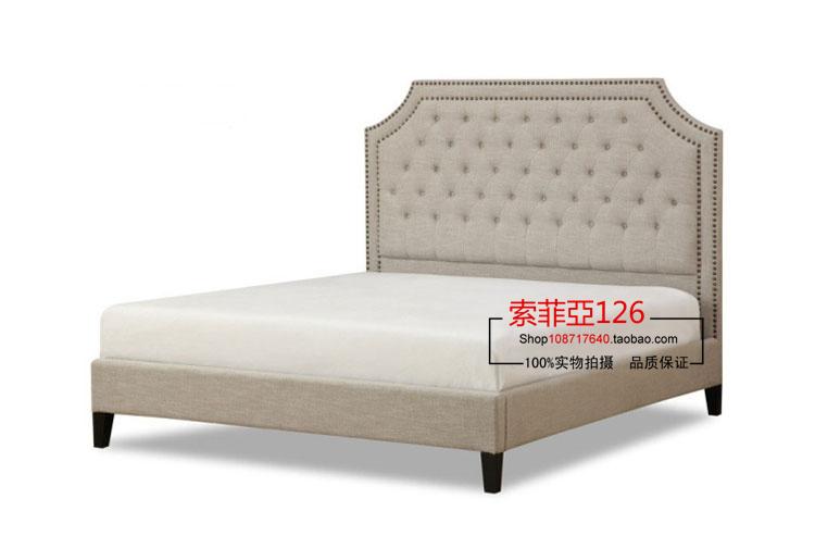 Online kopen wholesale amerikaanse stijl bedden uit china amerikaanse stijl bedden groothandel - Modern bed volwassen ...