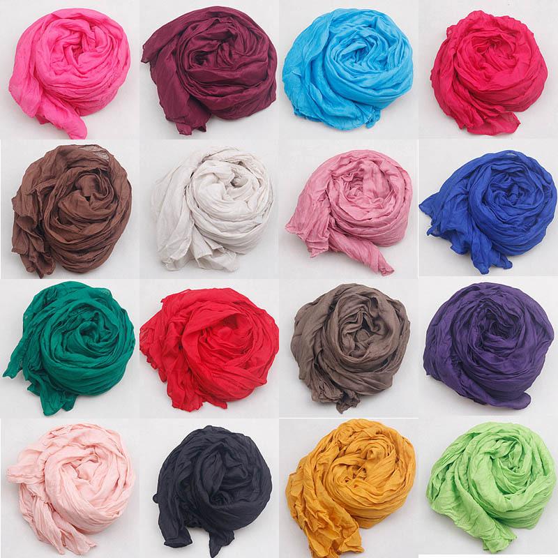 Новинка 2015 шарф женщин урожай дамы сплошной цвет черный красный белый шарфы деформация шаль женский bufanda ...