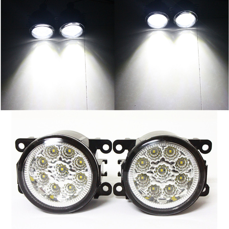 for car-styling LED fog lights SUZUKI JIMNY 1998-2014  daytime running lights fog lamps 1 SET<br><br>Aliexpress