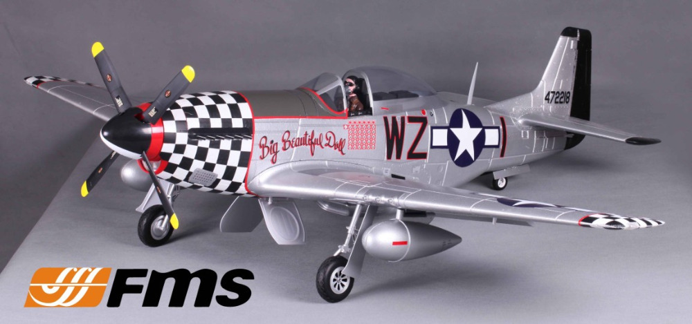 FMS 1400MM 1.4M P51 P-51 D Mustang BBD Big Beautil Doll Newest V8 PNP Gaint Warbird Big Scale RC Model Plane Aircraft(China (Mainland))