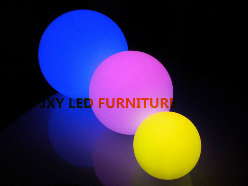D25cm,rechargeable, led lighting ball, supplier from china/Full color RGB long life span decorative disco lights led ball(China (Mainland))
