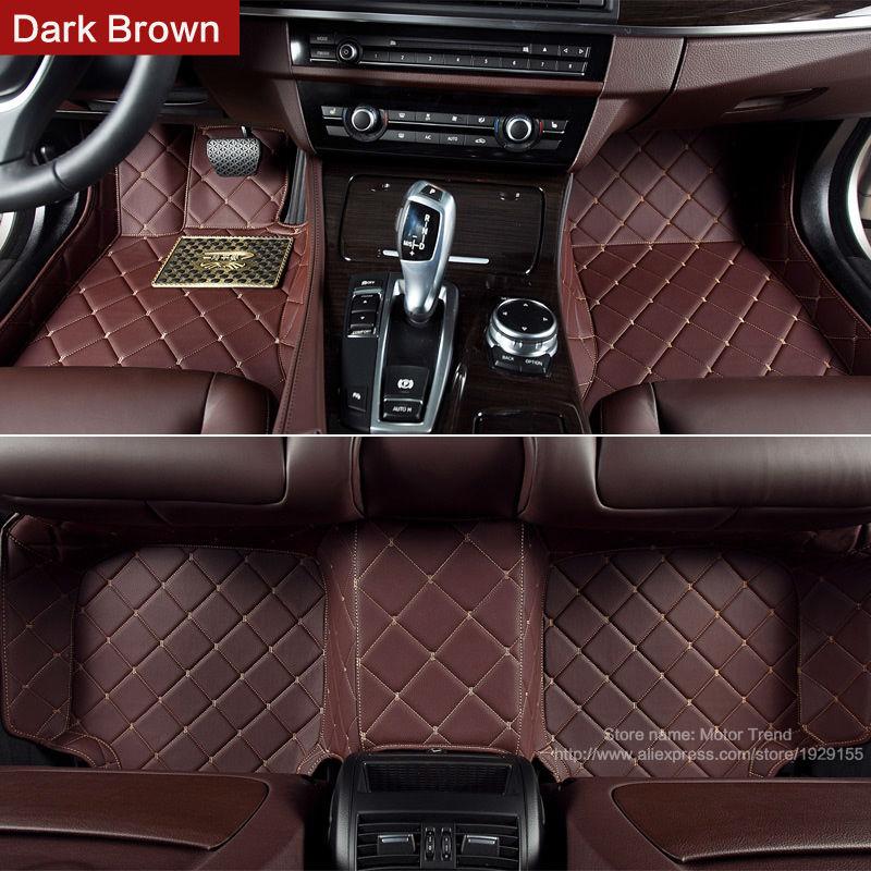 Custom fit car floor mats for Hyundai ix25 ix35 Elantra SantaFe Sonata  Solaris Tucson Veloster 3D carstyling carpet liner<br><br>Aliexpress