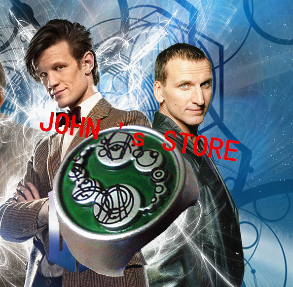 Freeshipping wholesale 20pc a lot Master Ring Dr Who THE SOUND OF DRUMS SAXONS RING THE MASTERS RING DTH88<br><br>Aliexpress