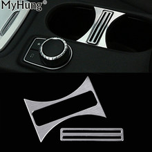 Buy Car Center Console Water Cup Holder Frame Cover Trim Mercedes Class B CLA GLA 2013 2014 2015 2016 Benz Car-Styling for $13.00 in AliExpress store