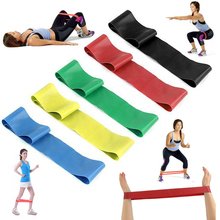 Buy MAYITR Latex Resistance Tension Elastic Loop Band Fitness Equipment Yoga Workout Exercise Gym Strength Training for $1.92 in AliExpress store