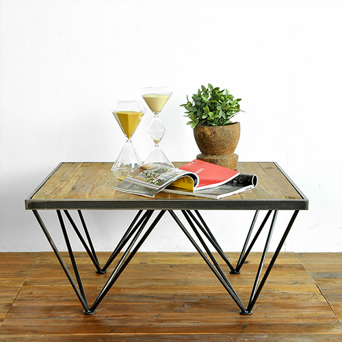 Rollins Industrial Loft Bronze Iron Coffee Table: 85 % Off French Country Furniture Export / LOFT Industrial