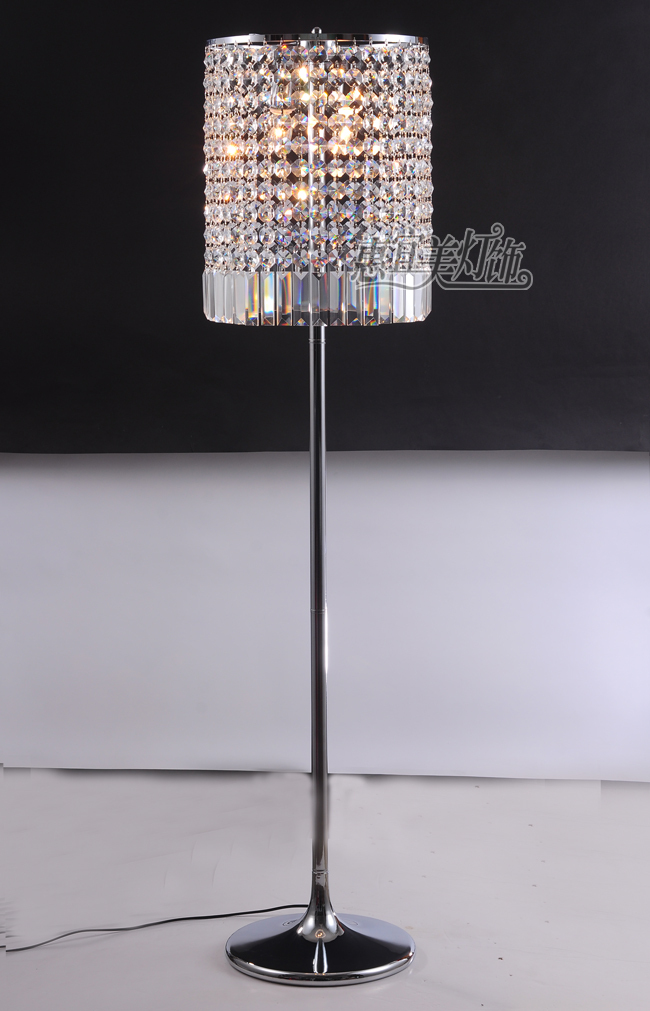 floor lamp bedroom living room modern k9 crystal floor lamps in floor