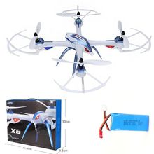 Free Shipping! JJRC H16 Tarantula X6 drone 4CH RC Quadcopter Hyper IOC WITHOUT CAMERA+1 Battery