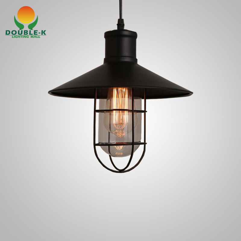 Vintage Pendant Lamp Retro Style Simple Industrial Lamp