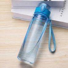 Botella de agua 560ML 400ML Drinkware de plástico Tour al aire libre deporte Escuela a prueba de fugas sello calabaza escalada botellas de agua(China)