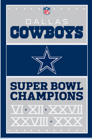 Dallas Cowboys Custom HD Home Decor Retro Classic Vintage Movie Poster Print 40x60cm Free Shipping Wall Sticker DGT-55388(China (Mainland))