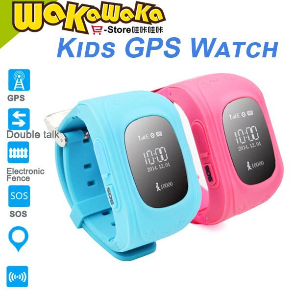 New Cute Kid Smart Phone Watch Waterproof Children Bluetooth 3.0 SOS GSM Sim Safety Anti-lost Locator GPS Tracker Birthday Gift(China (Mainland))