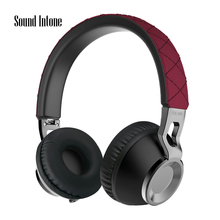 2016 New Design Headband Headset Mobile Phone Wireess Black 3.5MM USB Noise Cancelling MP3 With Microphone For Smartphone