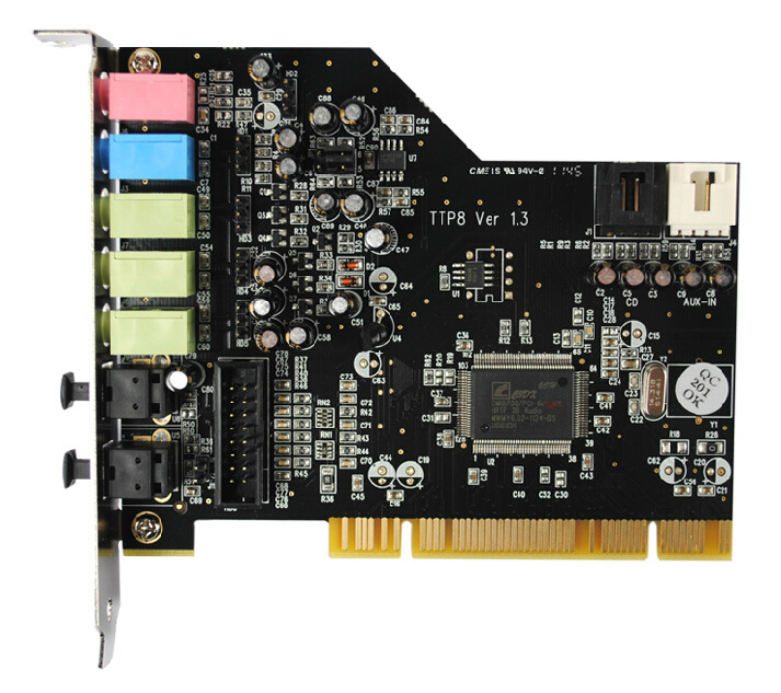 terratec aureon 5.1 fun sound card pci