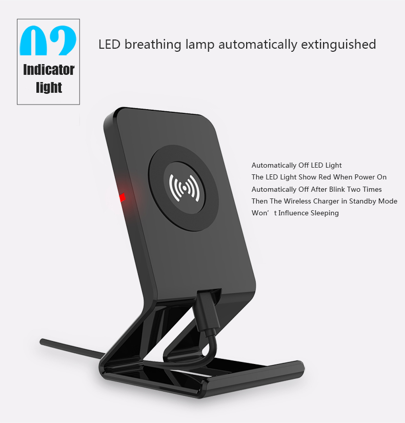 Stand Style Design QI Standard Wireless Charger For Samsung S7 Edge LG Series HTC Nokia 5V 1A Output Wireless Phone Chargers (3)