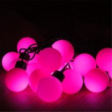 Wasserdicht IP44 Multi Farbe 20 Lichter RGB Globe Ball Automatische Farbwechsel LED Weihnachtsbeleuchtung, bunte dekorative Lichter.(China (Mainland))