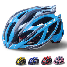 New Giant Sport Bicycle Helmets Ultralight Unisex Breathable Mountain Road Bike Helmet Night Light Cycling Helmet H1002(China (Mainland))