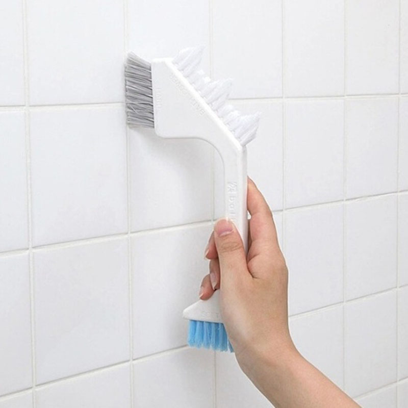 Free Shipping 2016 New Household Necessities Bath Room Tile Brush Crevice Brush Floor Brush Cleaning Brush Kitchen Except Dirt(China (Mainland))