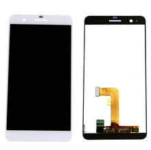 New Original LCD Display touch Screen with digitizer assembly replacement part For Huawei Honor 6 plus , white Free shipping