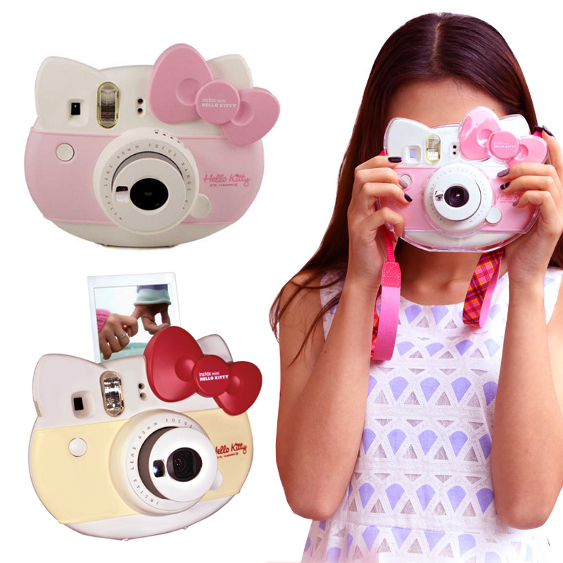 Fujifilm Instax Hello Kitty Instant Film Camera (Pink)+SELFIE ...