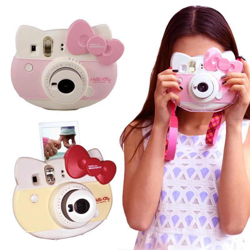 Polaroid camera target