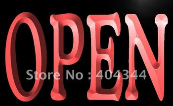 LB645- NEW OPEN Bar Pub Restaurant LED Neon Light Sign