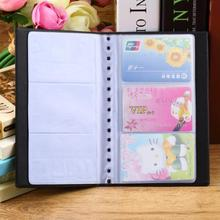 Portable 120 Cards Leather Business Name ID Credit Card Holder Keeper Organizer Book#ZH275