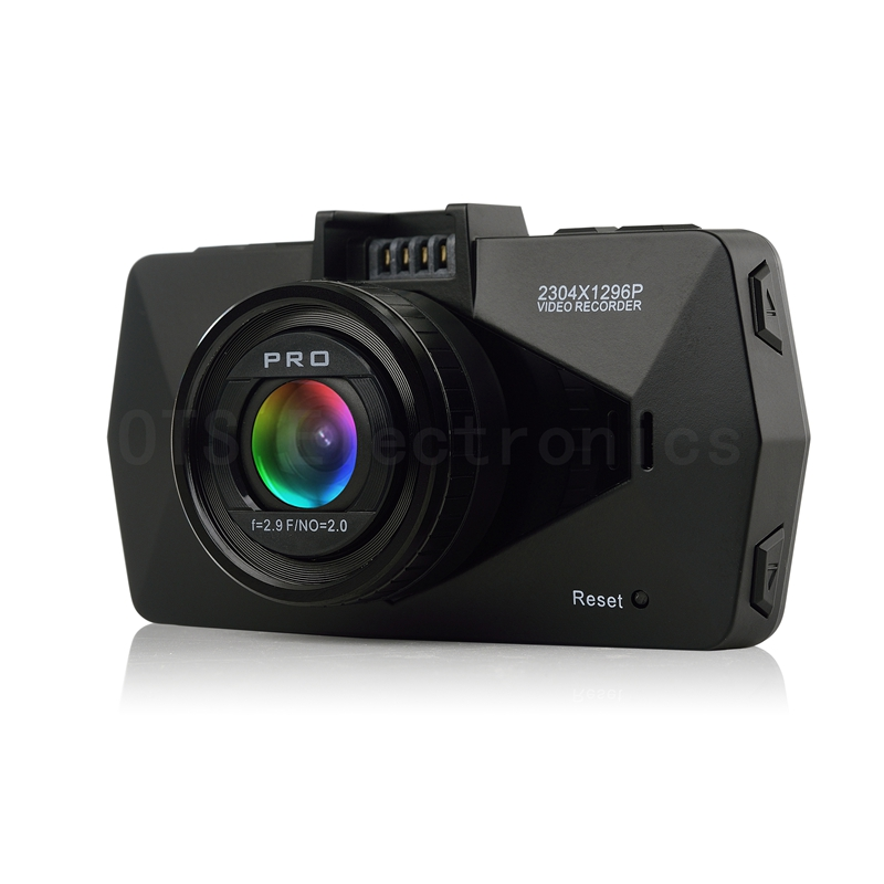 New Car Digital Video Recorder Ambarella A7 Chipset Full High Definition 1296P Camcorder with GPS Logger Option(China (Mainland))