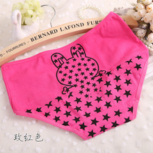 Hot sale Brand Dot Stars Sexy Plus Size Casual Calcinha Female Underwear Women Cotton Women's Panties Butt Lifter Briefs(China (Mainland))