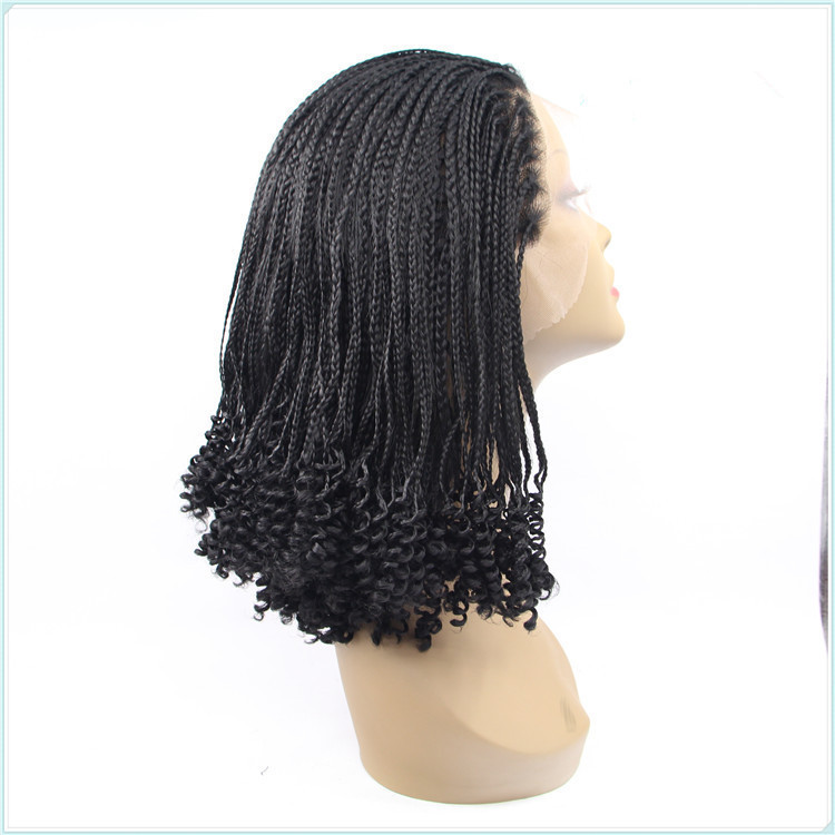 Avril Glueless Yaki Twist Braided Synthetic Lace Front