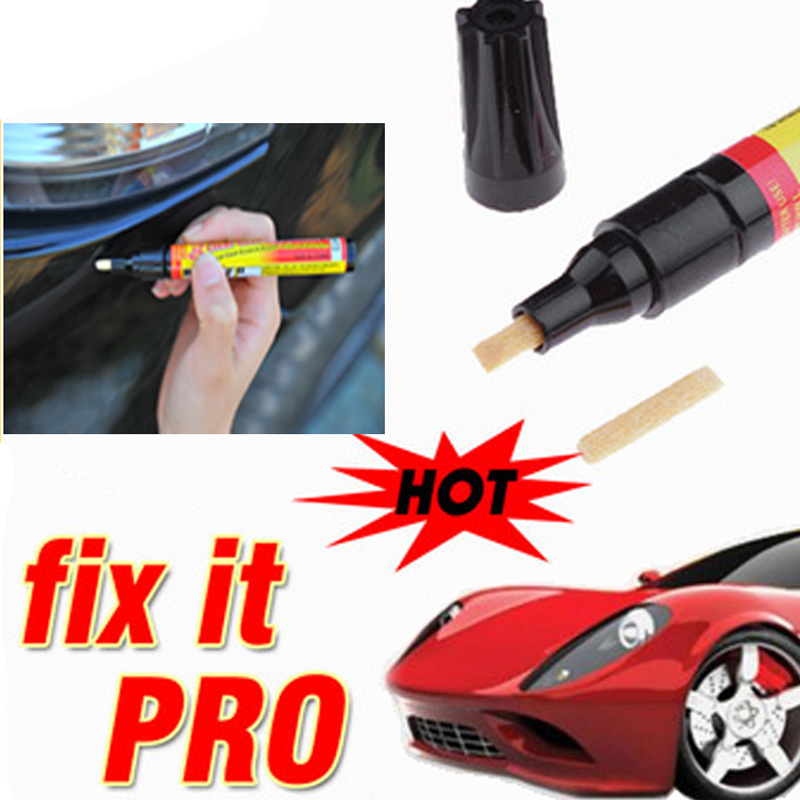 Fix it Pro Clear Car Scratch Repair Remover Pen Simoniz Clear Coat Applicator Portable 2Pcs(China (Mainland))
