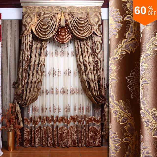 acheter nouveau style baroque de mode rideau qualit dodechedron rideaux. Black Bedroom Furniture Sets. Home Design Ideas