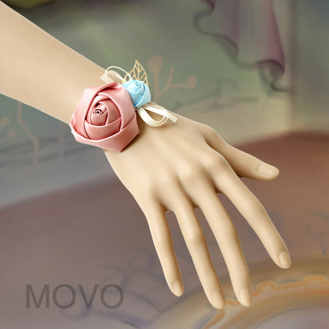 Rose women's fashion accessories bracelet wristband  vintage jewelry bride wrist  flower Wedding accessories