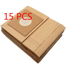 15 Pcs General Vacuum cleaner dust paper bags 100*110mm Diameter 50mm Vacuum cleaner accessories parts(China (Mainland))