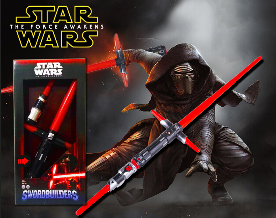 Star Wars The Force Awakens KYLO REN Lightsaber PVC Figure Collectible Model Toy 50cm