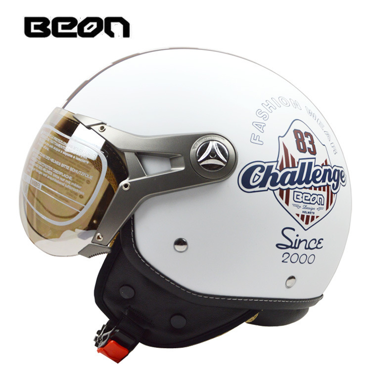 new arrival Beon helmet halley motorcycle helmet valentino rossi retro helmet half face helmet ECE Approved free shipping(China (Mainland))