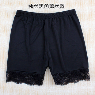 Summer safety pants legging plus size female lace basic shorts