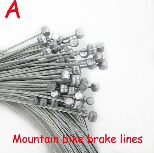 MTB Bike Road Bike MTB Gear Bicycle Brake Line Shifter Core Inner Cable Fixed Ge