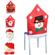 2015 New Fashion Home Decoration Christmas Chair Cover Lot For Party High Quality Covers For Dining Chairs,1Set(China (Mainland))