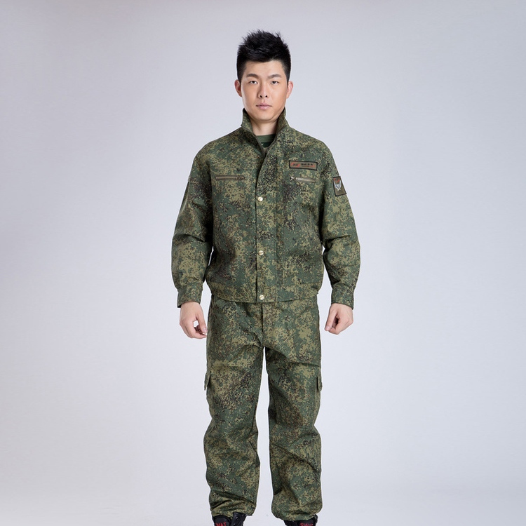 Hot Digital Jungle Army Camouflage Suit Combat BDU Uniform Hunting Set Wargame long sleeve jacket pants UN0019/K(China (Mainland))