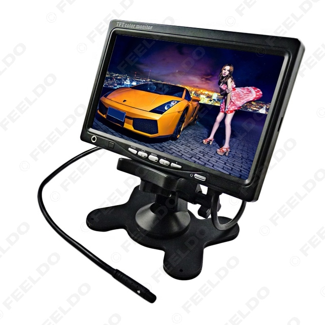 7 inch TFT LCD Car Stand-alone Monitor for DVD,Rearview(FD-LCD-ST768) #FD-1312